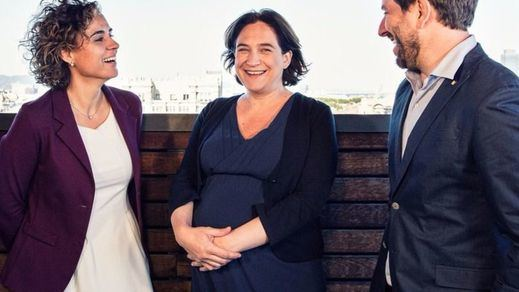 Ada Colau anuncia en Twitter el nacimiento de su segundo hijo, Gael