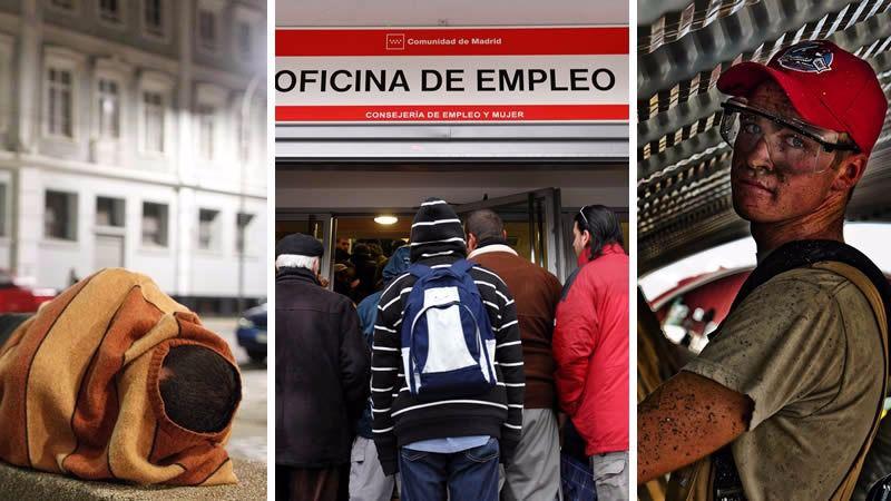 La EPA deja 17.200 personas más sin empleo en el primer trimestre del año