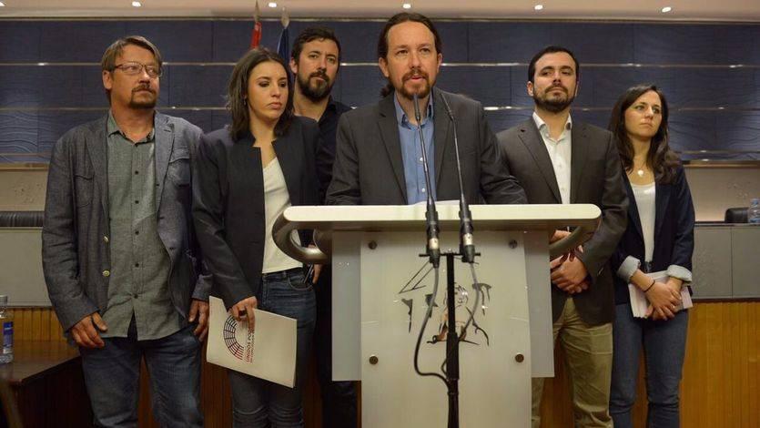 Podemos presentará una moción de censura contra Rajoy aunque no tenga el apoyo del PSOE