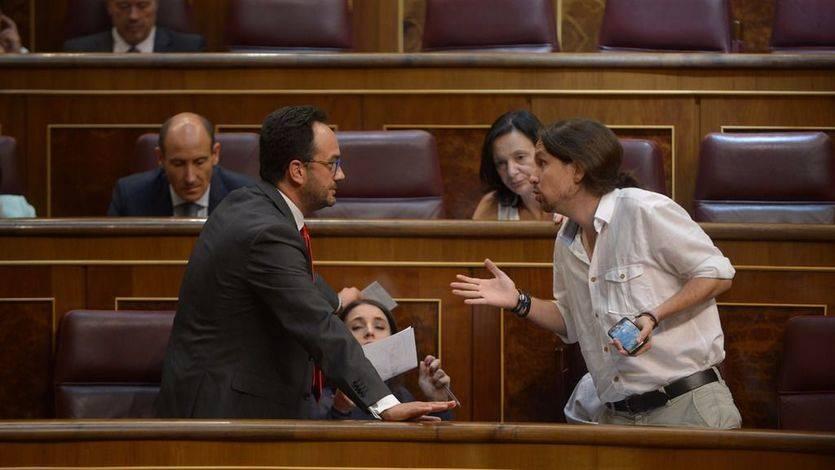 Iglesias redobla la presión y ofrece al PSOE que nombre al candidato para la moción de censura