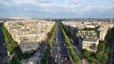 París y el amor, en primavera