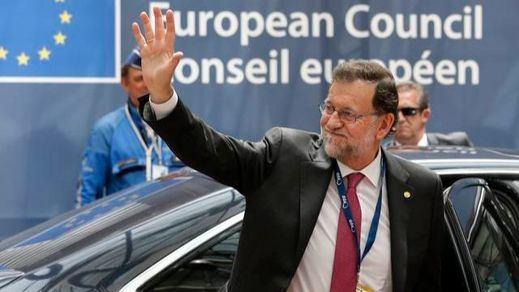 Rajoy presume de sus logros económicos en la primera reunión del Consejo Europeo sin el Reino Unido