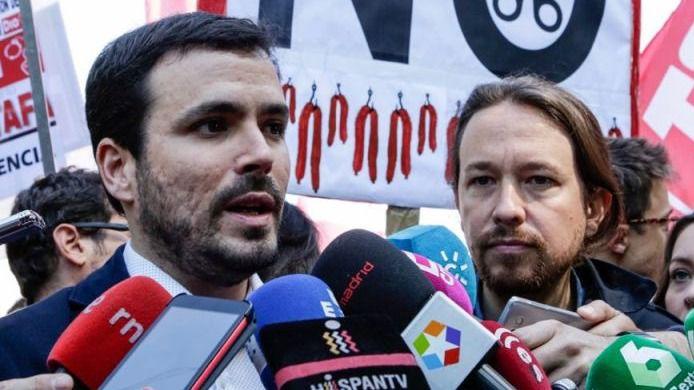 Garzón denuncia que más de 4 millones de españoles cobran menos de 300 euros al mes