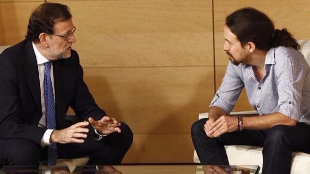 Pablo Iglesias acusa a Rajoy: 'Forma parte de una estructura corrupta y gobierna con mecanismos corruptos'