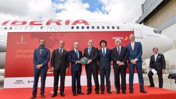 Iberia, la aerolínea más puntual del mundo en abril