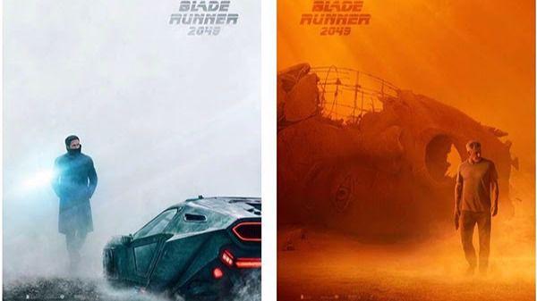 Harrison Ford y Ryan Gosling, estrellas de los primeros carteles de 'Blade Runner 2049'