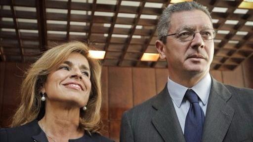 Gallardón y Botella y sus polémicos 16 millones a Indra, empresa encargada del escrutinio electoral