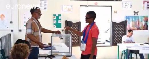 Elecciones en Francia: la participación sube en los territorios de ultramar