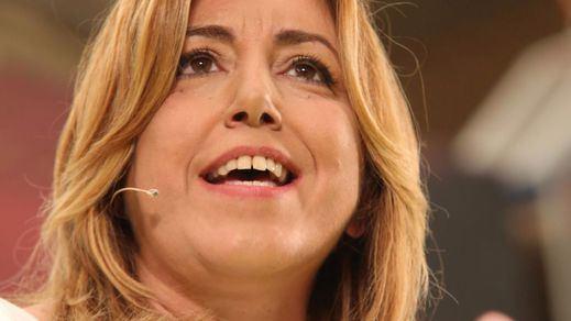 Susana Díaz 'roba' a Sánchez el discurso de la militancia