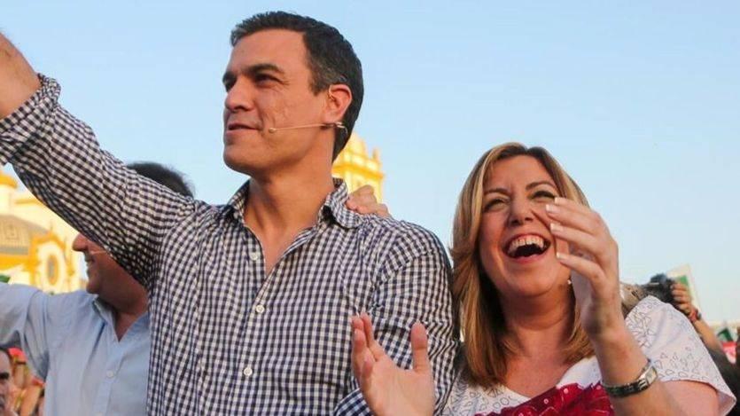 Las primarias del PSOE, en su recta final: Díaz y Sánchez, empatados a votos