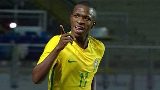 Vinicius, la joya brasileña que fichará el Real Madrid por sorpresa