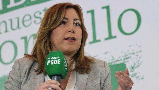 El debate socialista del 15 de mayo se calienta: Susana Díaz acusa a Pedro Sánchez de apoyar a los que la insultan