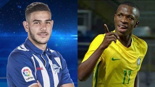 El Real Madrid ficha antes de que sea tarde a los jóvenes Theo y Vinicius