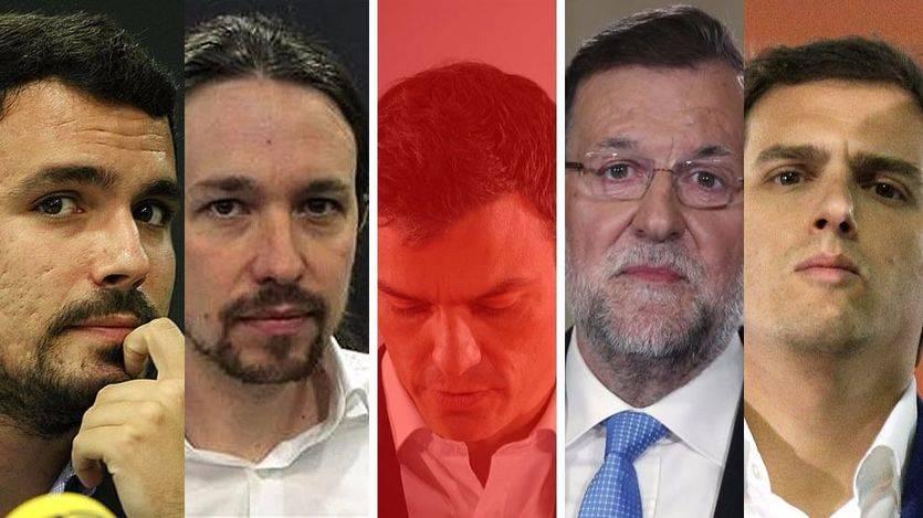 La línea moderada de PSOE y Ciudadanos tiene su recompensa y son los únicos partidos que mejoran en la encuesta del CIS