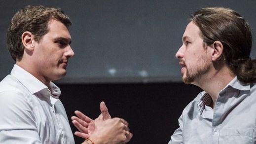 Ránking de valoración de líderes: Rivera supera a Rajoy y Pablo Iglesias