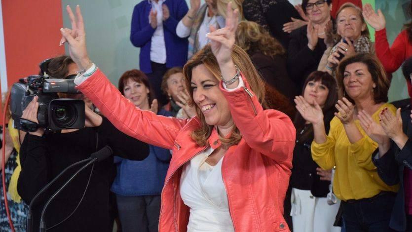 Susana Díaz, de San Telmo a IFEMA y viceversa