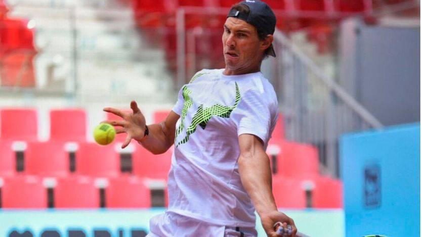 Mutua Madrid Open: Nadal, favorito 'por el cariño de la gente', empieza con triunfo (vídeo)
