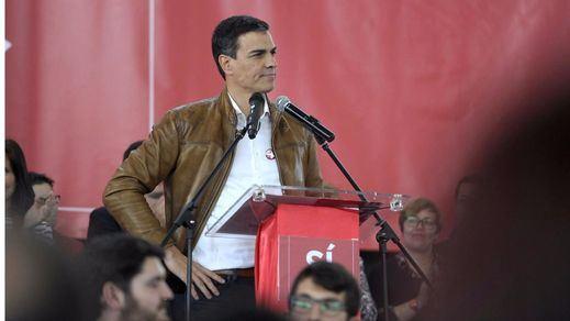 Pedro Sánchez gana por mayoría absoluta entre los votantes del PSOE a Susana y Patxi