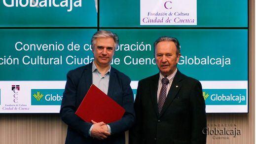 """Globalcaja renueva su convenio de colaboración con la Fundación de Cultura """"Ciudad de Cuenca"""""""