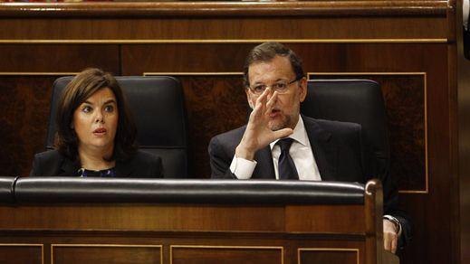 Sáenz de Santamaría cree que a las bases de Podemos, la moción a Rajoy