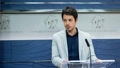 El diputado de Podemos, Segundo González
