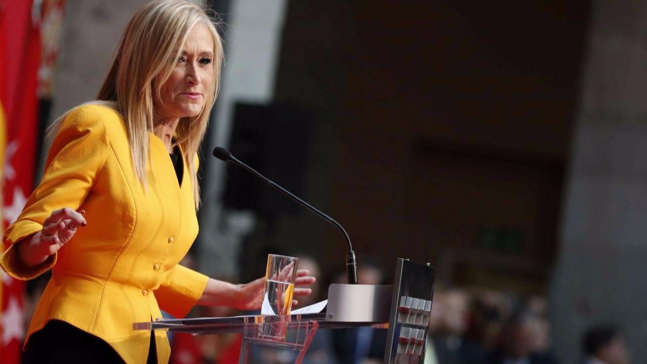 Cifuentes tendrá que comparecer en una comisión de investigación de la Asamblea de Madrid