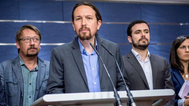 Unidos Podemos registra la moción de censura contra Rajoy dos días antes de las primarias del PSOE