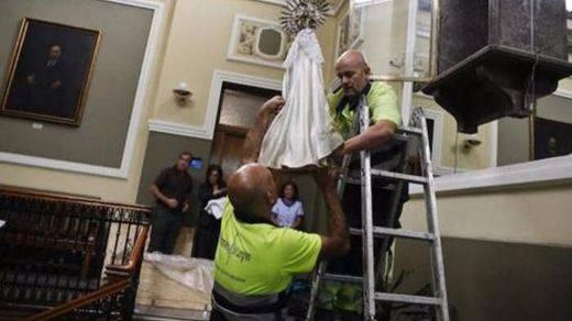 Los tribunales avalan que se retire la imagen de una Virgen de un Ayuntamiento no vulnera