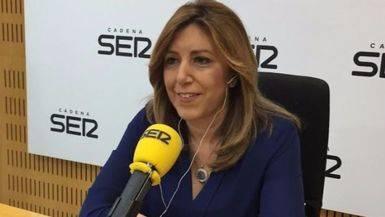 La presidenta andaluza confirma en su discurso-entrevista en la SER que dimitiría en caso de fracaso electoral