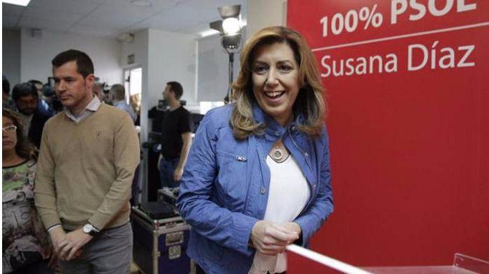 Susana Díaz se olvida del laicismo y de los privilegios de la Iglesia Católica