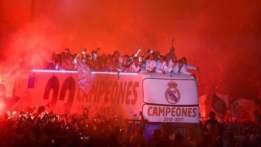 Las imágenes y anécdotas clave de la celebración liguera del Real Madrid