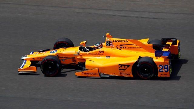 Alonso ya ha triunfado en Indianápolis antes de la carrera con su quinto puesto final en los entrenamientos