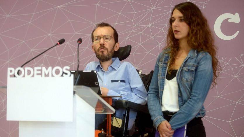 Podemos ofrece a Sánchez retirar la moción de censura si el PSOE registra ya la suya