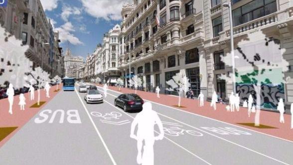 Proyecto de Gran Vía de Madrid