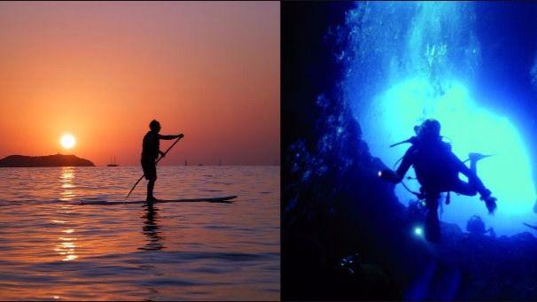Deportes al aire libre para descubrir la Ibiza más pura