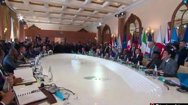La cumbre del G-7 se convierte en un '6 contra Trump' por amenazar los acuerdos del clima
