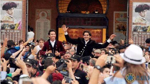 San Isidro: triunfalista mano a mano de Diego Ventura, con tres orejas, y Leonardo Hernández, con dos