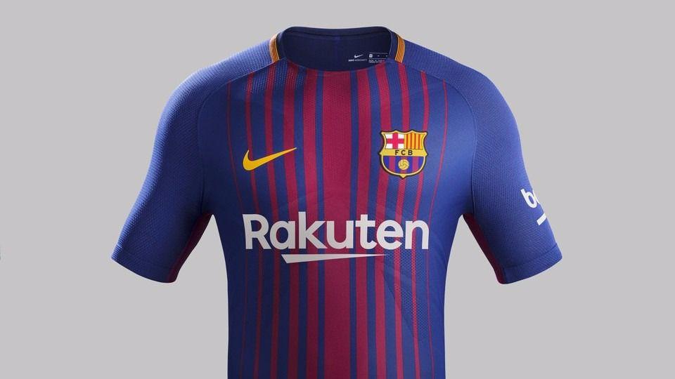 3f050868da038 La camiseta del Barça para la temporada 2017 2018  primera equipación.  Ampliar