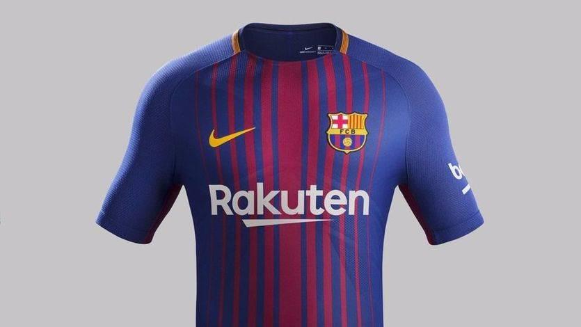 La camiseta del Barça para la temporada 2017/2018: primera equipación