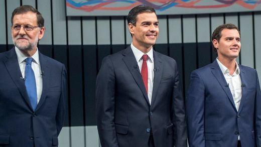 Rajoy, Sánchez y Rivera plasman una alianza constitucionalista para impedir el referéndum