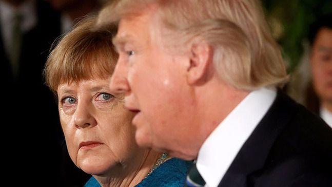 Trump resucita viejos fantasmas amenazando a Alemania por su política comercial y militar