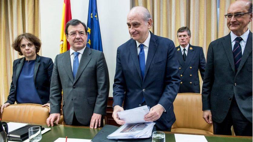El ex ministro Fernández Díaz comparece en la comisión de investigación de Interior