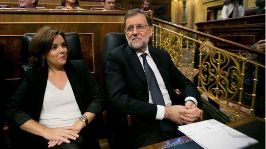 Anécdotas del debate de los Presupuestos: el error de Rajoy al votar y los sillones rotos