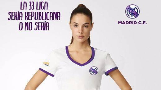 La camiseta del Real Madrid en versión republicana que incomoda a Florentino