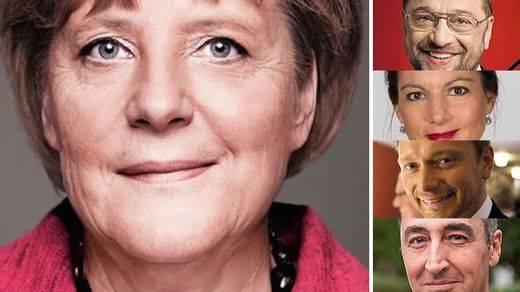 Elecciones alemanas: Merkel gana en los sondeos y se impone en el debate a Schulz