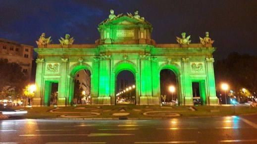 Madrid se vuelve verde en apoyo al Acuerdo de París