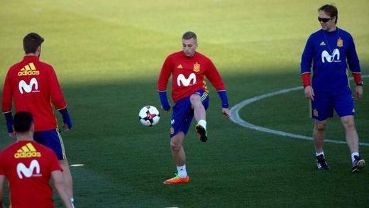La Roja toma el relevo futbolero al Madrid con el amistoso ante Colombia y el oficial ante Macedonia