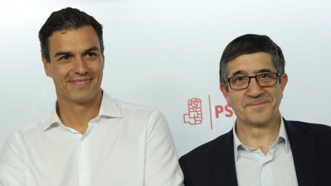 ¿La pipa de la paz?: Sánchez ofrece a Patxi López un puesto alto en su Ejecutiva