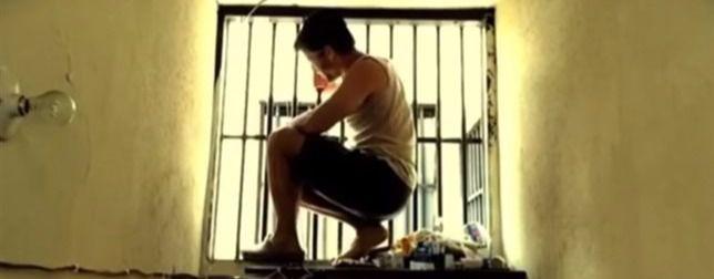Leopoldo López en una cárcel de Venezuela