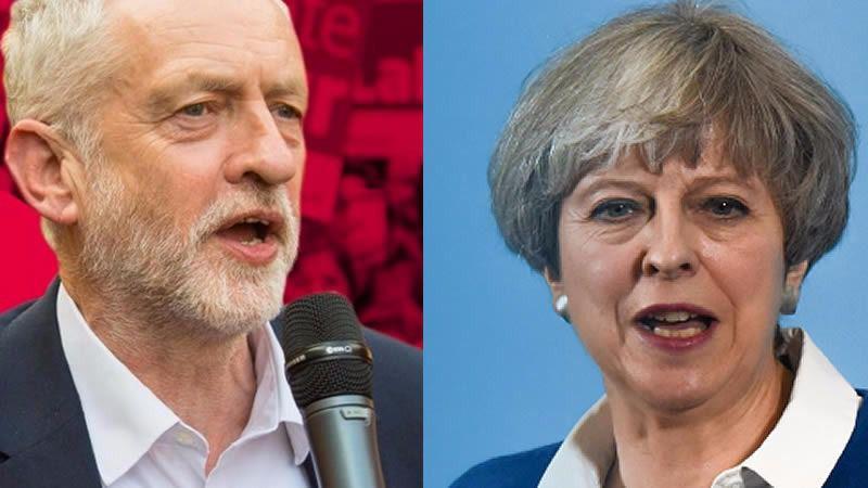 Elecciones Reino Unido: Corbyn se acerca a May y la 'premier' se aleja de la mayoría absoluta